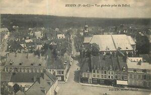 62-HESDIN-VUE-GENERALE-PRISE-DU-BEFFROI