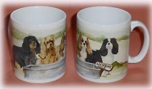 CAVALIER-KING-CHARLES-SPANIEL-DOG-MUG-OFF-TO-THE-DOG-SHOW-PRINT-SANDRA-COEN-ART