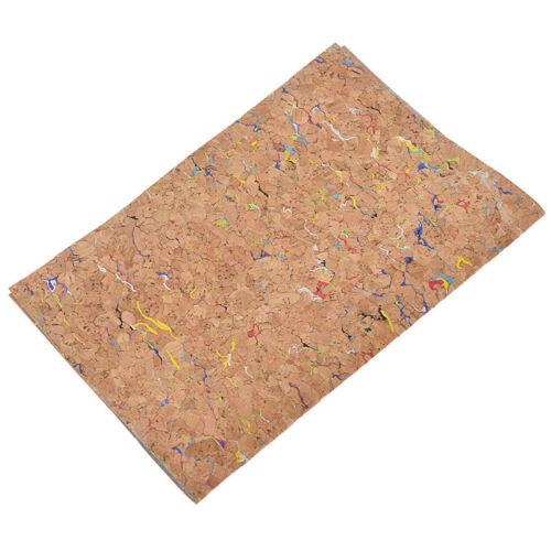 1pc Soft Cork Leather Fabric A4 High Quality DIY Handbag Belt Making Material