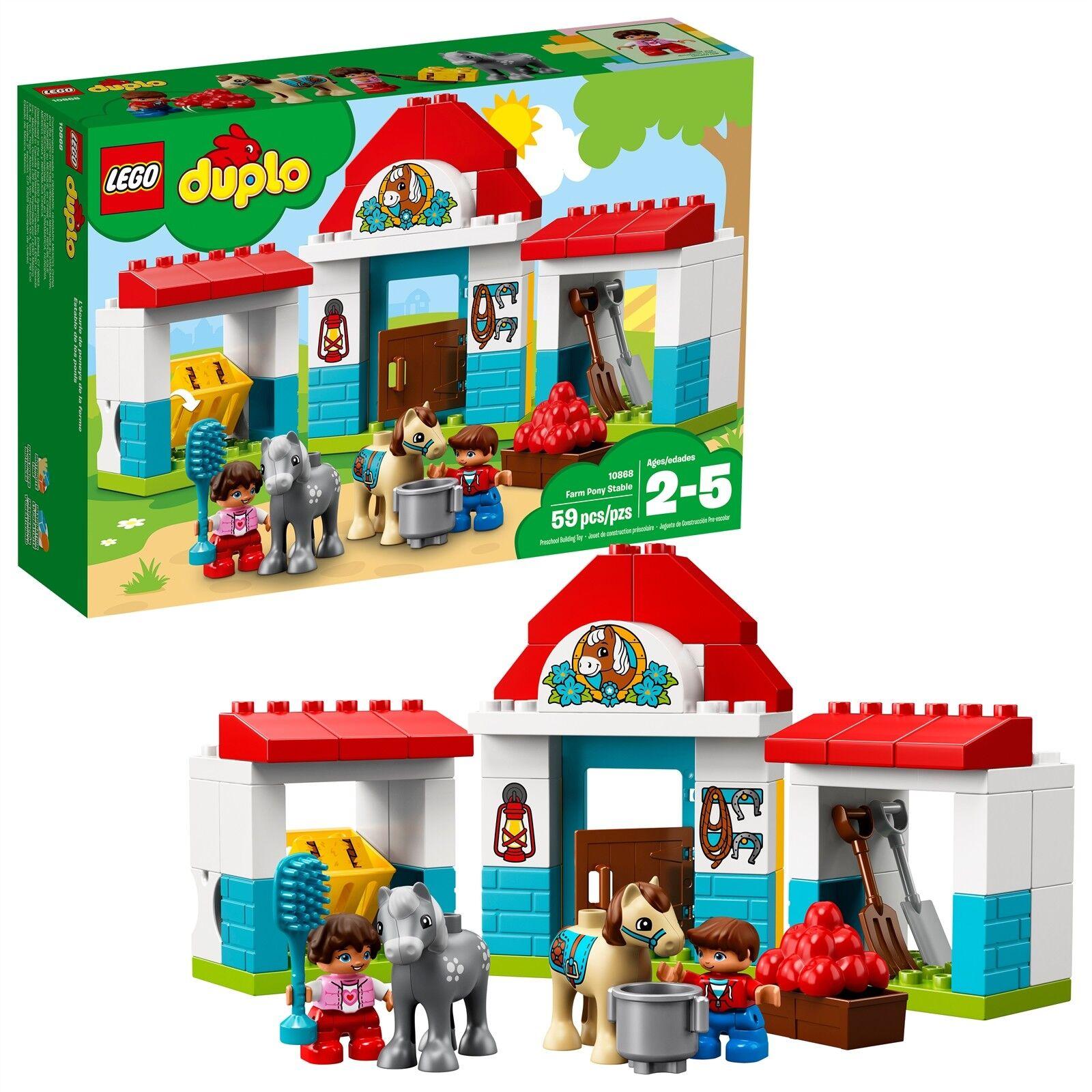 LEGO® DUPLO® Town - Farm Farm Farm Pony Stable 10868 59 Pcs 8e96e2