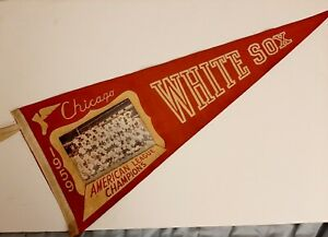 Vintage-35-034-X-12-034-1959-Chicago-White-Sox-American-League-Champion-039-s-Pennant