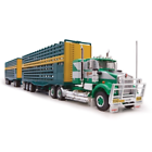 Highway Replicas 1:64 Scale Bagshaw Livestock Road Train - 12011
