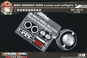 Voyager-Models-1-35-WWII-German-Tank-Lenses-and-Taillights-for-All