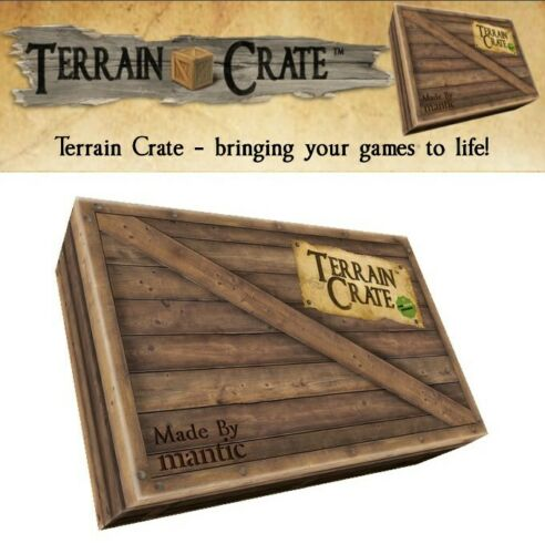 Mantic Games Kickstarter Terrain Crate KSTCA104 The Dark Lord/'s Fortress