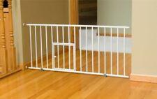 """Carlson 0680PW Mini Gate with Pet Door, White"""