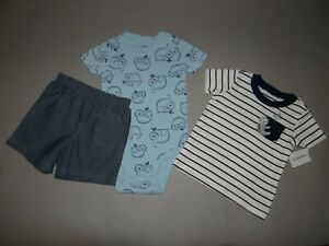 Nwt Baby Boy Clothes 18 Months Carter S 3 Piece Set See Details Color Size Ebay