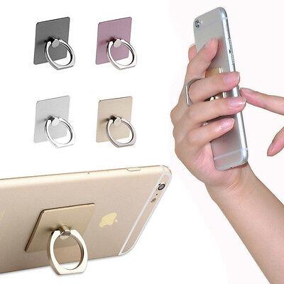 Universal 360º Finger Metal Ring Holder Grip Stand For Smartphone