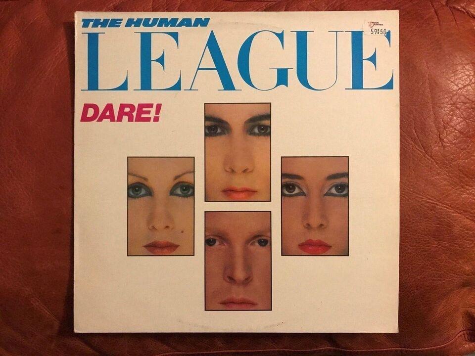 LP, The Human league , Dare