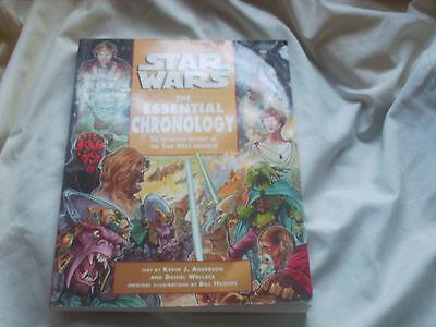 Accurato Star Wars La Cronologia Essenziale Con Kevin J. Anderson-mostra Il Titolo Originale