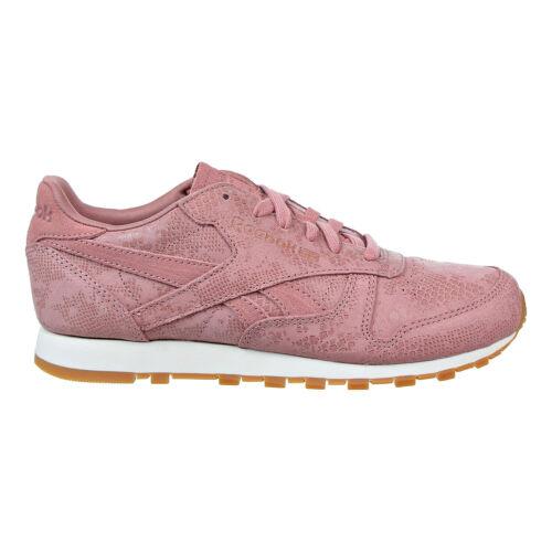 Details about  /Reebok Classic Leather Clean Exotics Women/'s Shoes Sandy Rose-Chalk-Gum BS8226