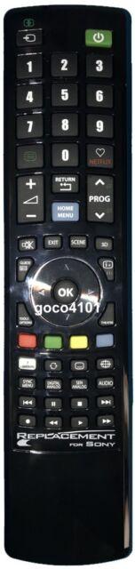 REPLACEMEN SONY REMOTE CONTROL RMGD016 RM-GD016 KDL40HX800 KDL46HX800 KDL53HX800