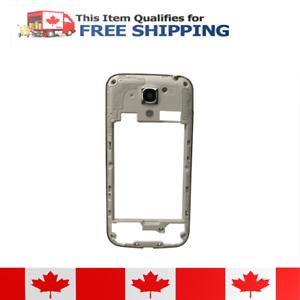 Samsung Galaxy S4 Mini Silver MidFrame Plate Bezel Chassis
