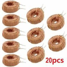 20 Pcs 330uh 3a Toroid Core Inductor Wire Wind Wound