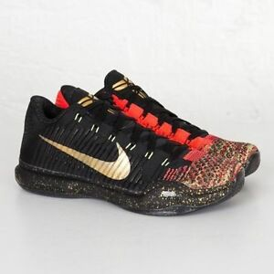aa938ef59961 Nike Kobe 10 X Elite Low Xmas Christmas 5 Rings Size 14. 802560-076 ...