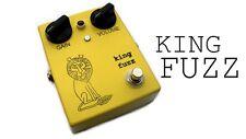 Bigfoot Engineering King Fuzz Guitar Pedal w/ True Bypass