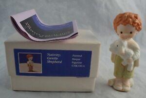 1981-Hallmark-Mary-Hamilton-Nativity-Collection-Gentle-Shepherd-Bisque-Figurine