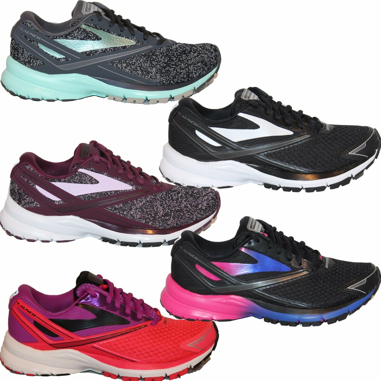Donna Brooks LAUNCH 4 Neutral NIB Cushion Running Shoes  NIB Neutral e45930
