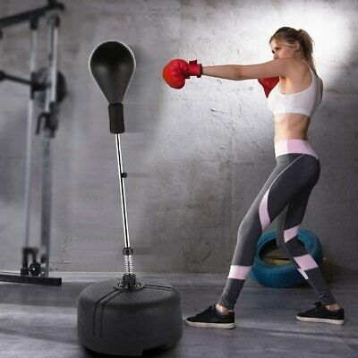 Punching Bag Reflex Boxing Bag Freestanding Punching Ball with Stand Speed Bag