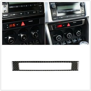 Carbon-Fiber-Center-Console-Frame-Cover-Trim-For-Toyota-86-Subaru-BRZ-2013-17
