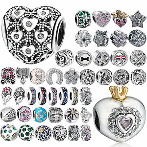 In Workmanship Nice New 925 Sterling Silver Bead Charm Friend Of My Hearts With Cubic Zirconia Pendant Beads Fit Pandora Bracelet Bangle Diy Jewelry Exquisite