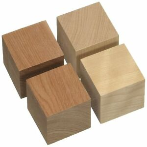 Details About Yamamoto Sound Craft Qb 2 Cube Based Wood Wooden Material Speaker Insulator