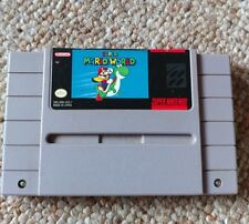 Super mario world snes super nintendo  tested and works