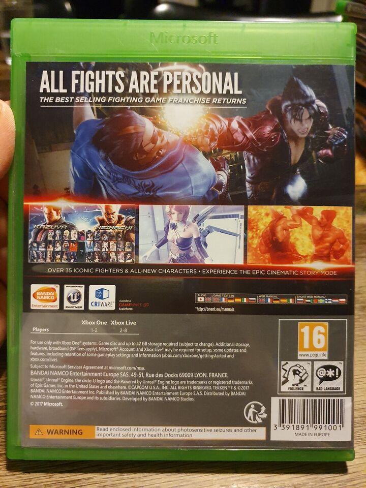 Tekken 7, Xbox One, action