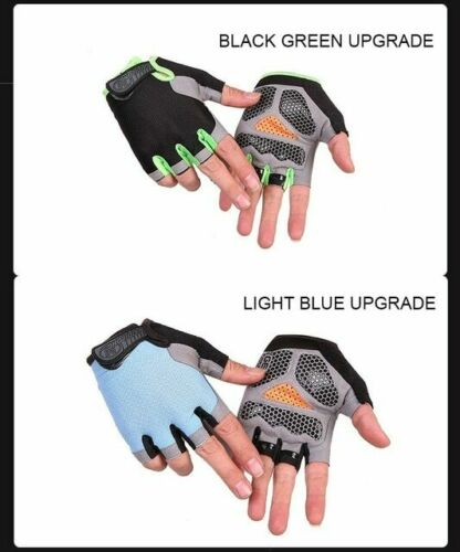 Work Out Gloves Non-Slip Gym Sport Exercise Training Half Finger Guantes