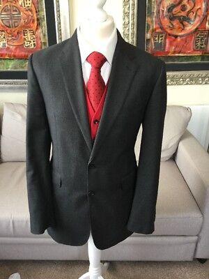 Crombie Luxury Grigio Blazer 40l-