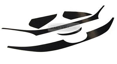 Front Grille Decals Stickers Carbon Black For HYUNDAI 2010-2013 Tucson ix ix35