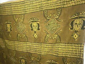 Vintage-Genuine-MALI-BAMANA-Africa-BOGOLANFINI-MUD-CLOTH-100-034-x-73-034-Hand-Woven