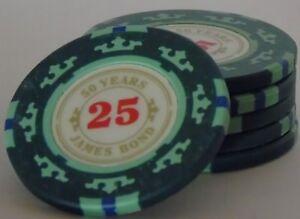 6-x-50th-Anniversary-of-James-Bond-Green-Casino-Poker-Chips-25