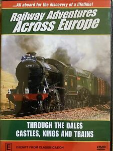 DVD: Railway Adventures Across Europe - Through The Dales, Castles, Kings, Train