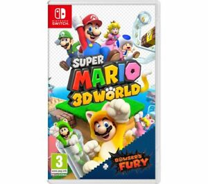 NINTENDO SWITCH Super Mario 3D World & Bowser's Fury - Currys