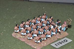 25mm Biblique / Égyptien - Axemen 24 Figures Inf (11410)