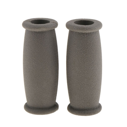 2x Premium Rubber Crutch Hand Grip Covers Soften the Pain of Using Crutches