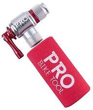 CO2 Inflator By PRO BIKE TOOL - Quick Easy - Presta Schrader Valve Compatible