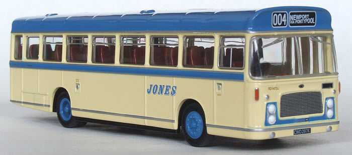 29411 Efe Bristol Relh Ecw Doppio Uso Bus Jones Omnibus Servizi 1 76 Pressofuso