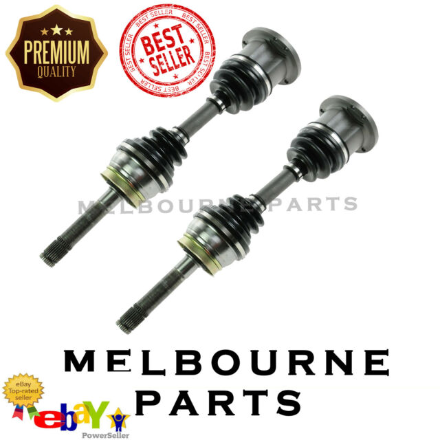 2 Quality New Front CV Joint Drive Shaft for Nissan Navara D40 4CYL & V6 2005- 1