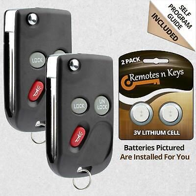 Keyless Entry Remote For 1999 2000 2001 GMC Yukon Car Key Fob Control Alarm