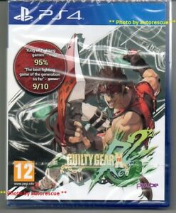 GUILTY-GEAR-X-Rev-2-034-NUOVO-amp-Sealed-039-PS4-quattro