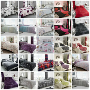 Duvet-Cover-with-Pillow-Case-Quilt-Cover-Bedding-Set-Single-Double-King-S-King