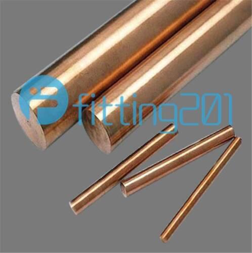 Length 100mm 5pcs Cu Metal Rods Cylinder Diameter 99.9/% Pure Copper 4mm