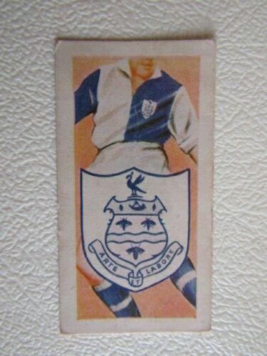 ef6 Kane 1956-clubes de fútbol /& Colores Tarjetas variantes de tarjeta