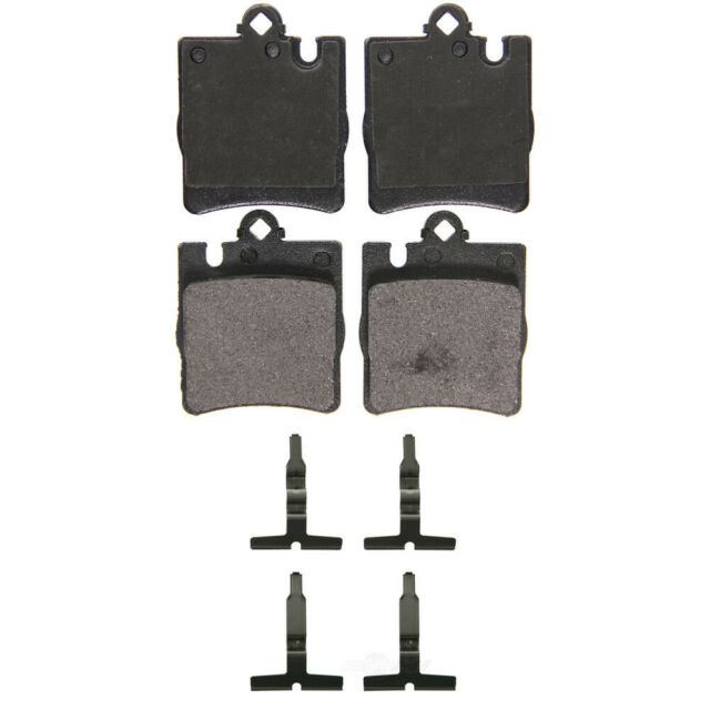 Disc Brake Pad Set-QuickStop Disc Brake Pad Rear Wagner ZX876