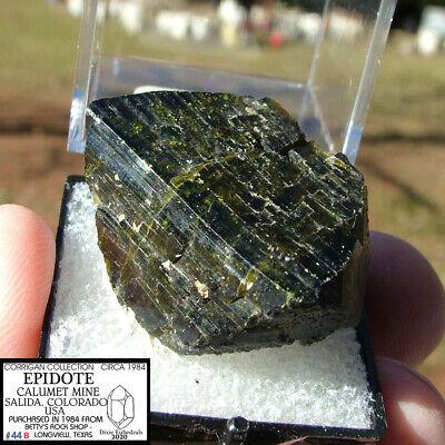 Epidote crystal Colorado Calumet Mine