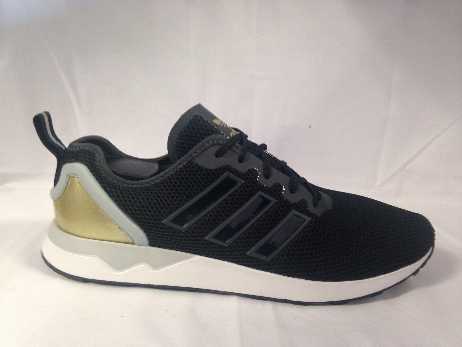 Adidas ZX Flux Adv Negro/Oro/Blanco para Hombre Tenis Zapatillas Negro/Oro/Blanco Adv Reino Unido 9.5 Nuevos Y En Caja 650f77