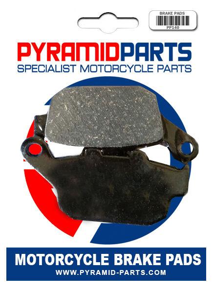 Triumph 675 Daytona Triple (Rad.cal) 09-12 Rear Brake Pads