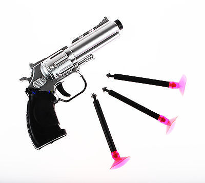[1x] New Pump Gun Suction Cup Safety Bullets Soft Small Dart Pistol Kids Toy