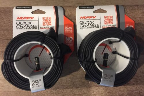 """Huffy Quick Change 29/"""" x 2.125-2.30/"""" Inch  Bicycle Inner Tube"""
